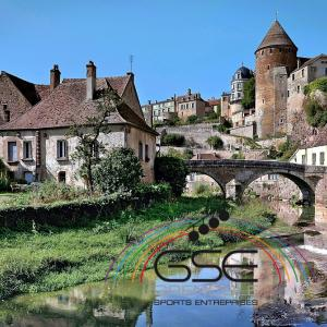 Vue de Semur-en-Auxois